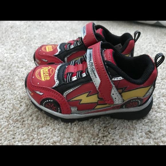 stride rite lightning mcqueen shoes